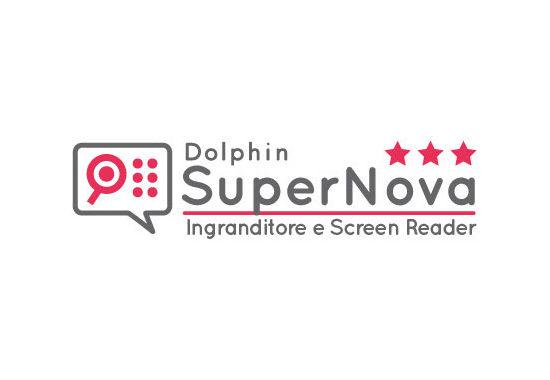 dolphin supernova ingranditore e screen reader